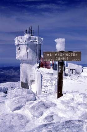 Mt Wash Summit